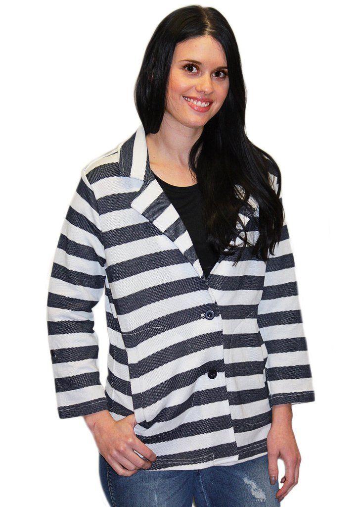Tribal Striped Jacket
