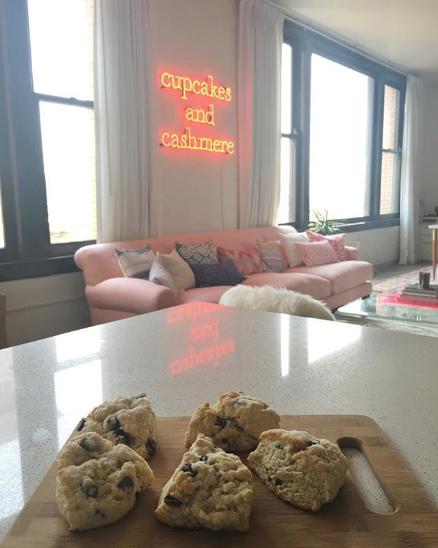 emilyschuman . Monday blues, meet homemade scones