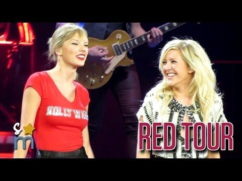 """▶ Taylor Swift & Ellie Goulding - """"Anything Could Happen"""" at Staples Center - YouTube"""