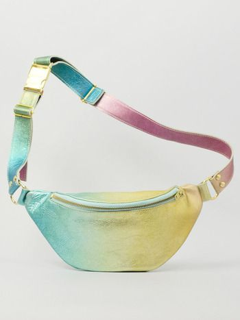 FADE METALLIC FANNYPACK (LIMITED EDITION) Designed by Augusta Wind