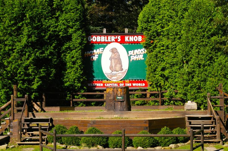 Gobbler's Knob in Punxsutawney, PA