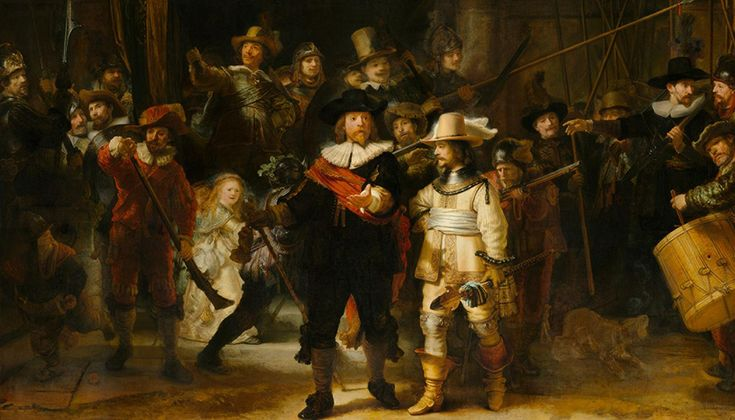 The Night Watch/Rembrandt