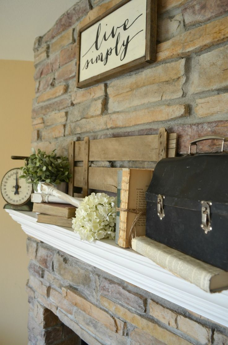 4 Tips For Decorating The Mantel Mantel Decor Everyday Rustic Mantle Decor Decor