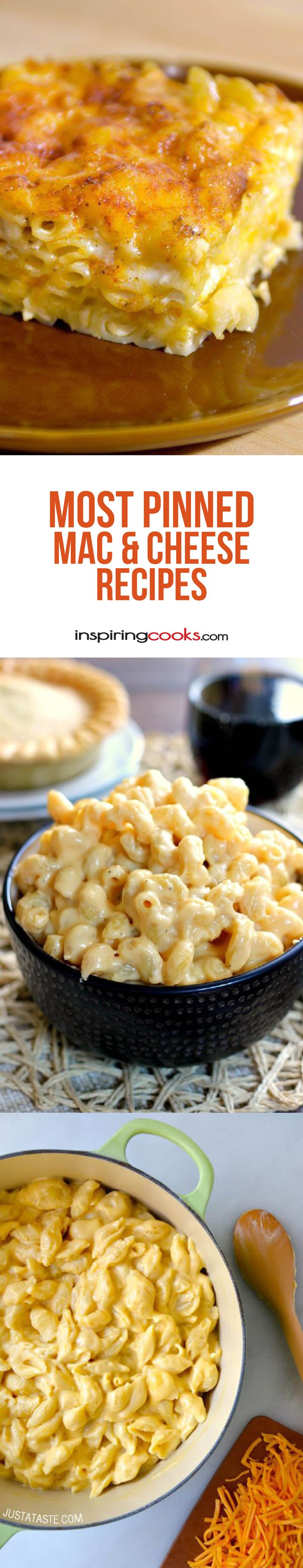 Here is a list of the most pinned macaroni & cheese recipes on Pinterest. I didn't know there were so many different macaroni & cheese recipes, but I found the 18 best ones though. How do I know they are the best mac and cheeses recipes? Because they have been pinned on Pinterest more times...Read More