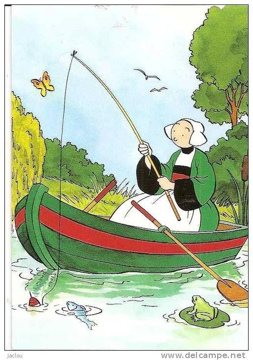 Bécassine la Bretonne a la pêche ¿¿¿¿¿