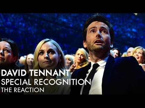 David Tennant Reacts In Delighted Disbelief as He's Honored With a Special Recognition Award in 2015