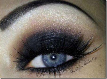blue eyes makeup 911