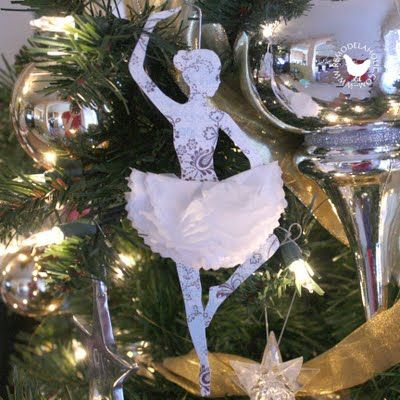 1000 images about ballet ornaments on pinterest for Ballerina decoration