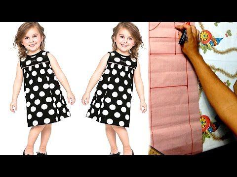 Introdução à costura: Aprenda a traçar molde de vestido infantil [ aula 3] - YouTube