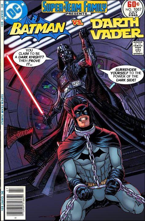 Super-Team Family: The Lost Issues!: Batman Vs. Darth Vader