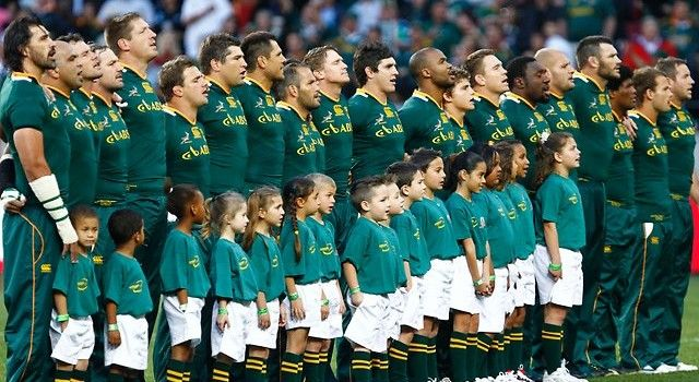 Rugby World Cup 2015 South Africa Team Squad