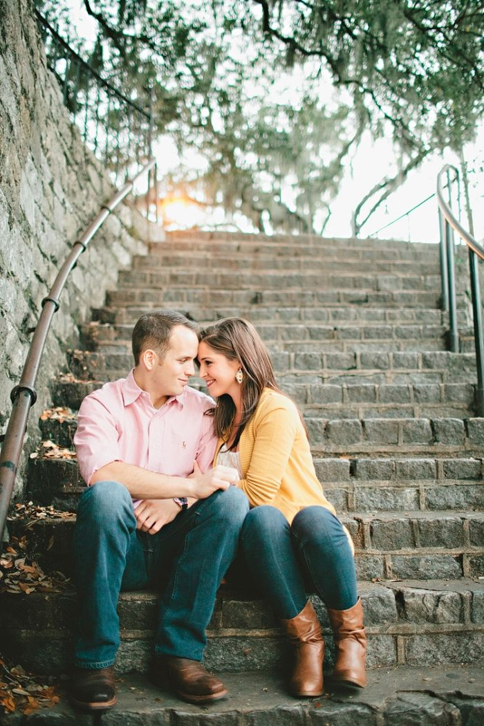 Love this Savannah engagement session.  It's hard to take a bad shot in such a pretty place!