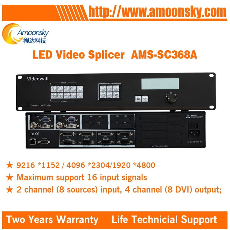 1699.00$  Watch here - http://alil7f.shopchina.info/1/go.php?t=32781887048 - professional original rental led programable led video wall controller AMS-SC368A for outdoor led display screen video processor  #aliexpress