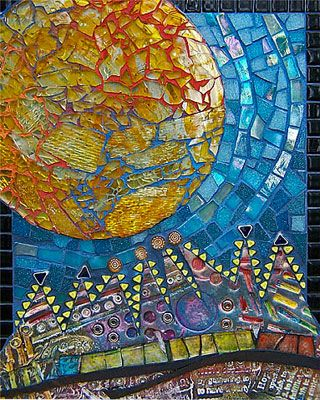Architecture Healer, featured on the great blog Polymer Clay Daily.: Mosaics, Polymer Clay, Photo, Stained Glass, Clay Tile, Mosaic Art