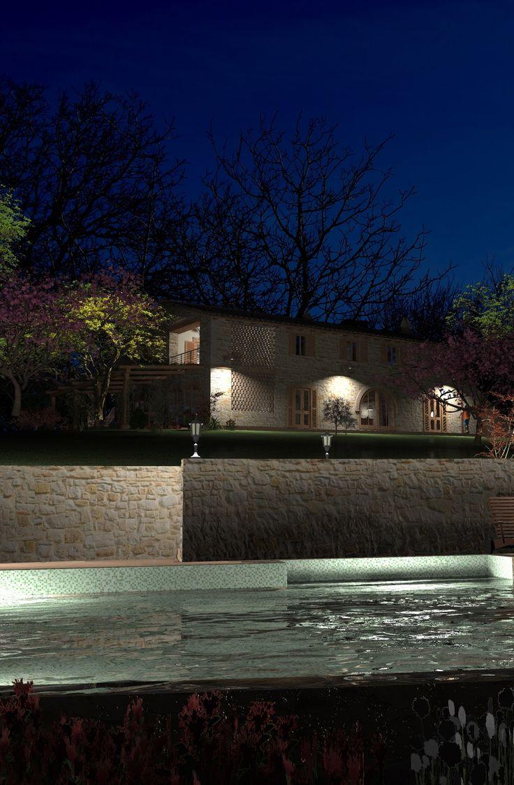 """Fattoria del Nonno - Fattoria Umbra  """"La fattoria del nonno"""" è un casale situato sulle colline umbre intorno al borgo di Civitella del Lago e vicino al Lago di Corbara e alle città d'arte di Orvieto e Todi. Si tratta di una vecchia casa (costruita prima del 1820), situato in un villaggio del Comune di Baschi, chiamato Cerreto. http://www.umbriadomus.it/property/fattoria-del-nonno/#sthash.587GSR2S.dpuf"""