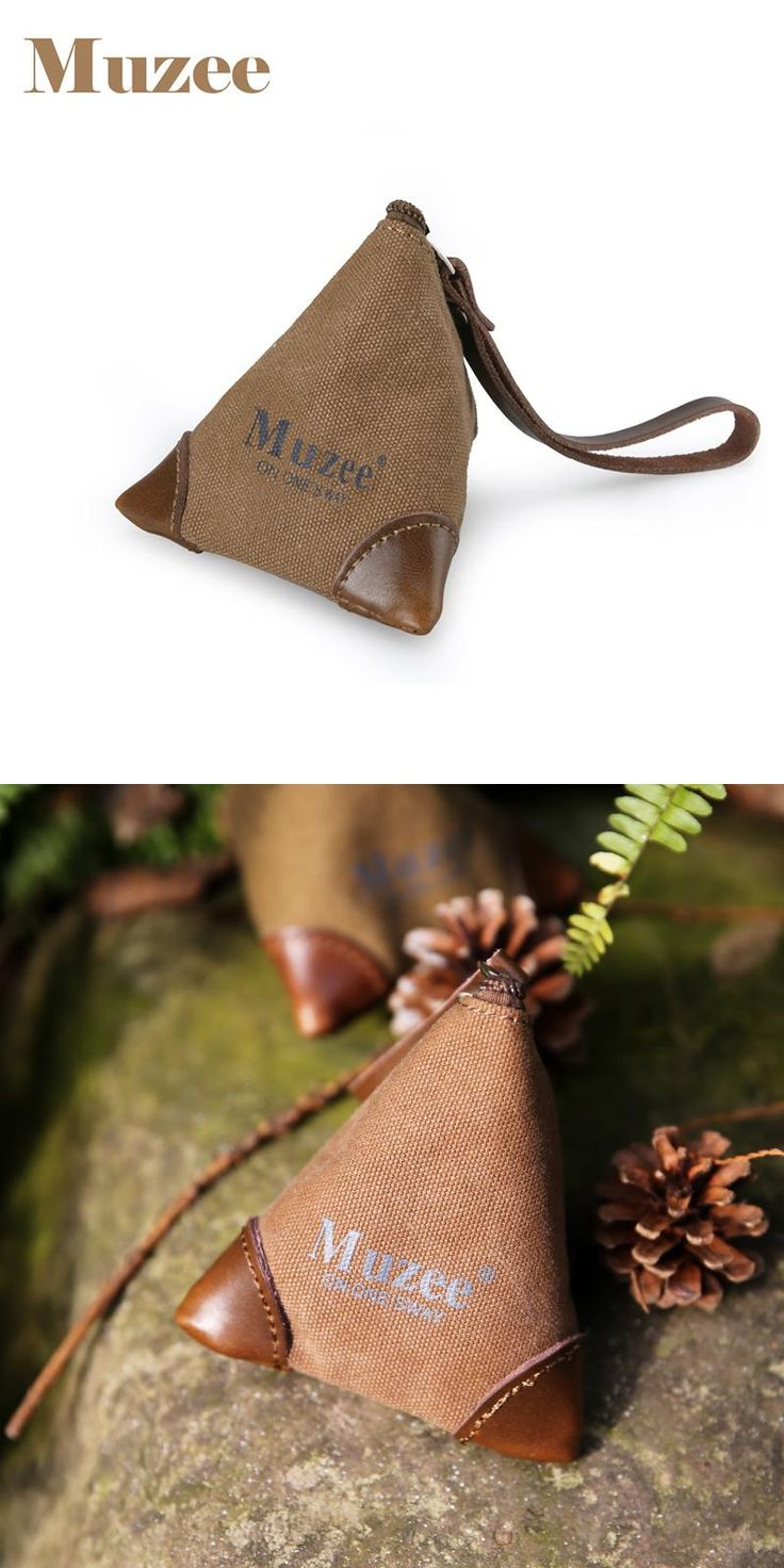 [Visit to Buy] Muzee Canvas Coin Bag suit for Keys and Coin Cute Coin bag for Teenagers Male&Female Gift Bag #Advertisement