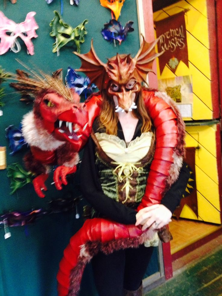 Nine foot long, fully articulated dragon puppet (one of several).