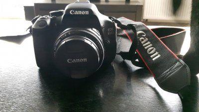 Canon EOS 600d + obiektywy 18-135 i 50mm gwarancja