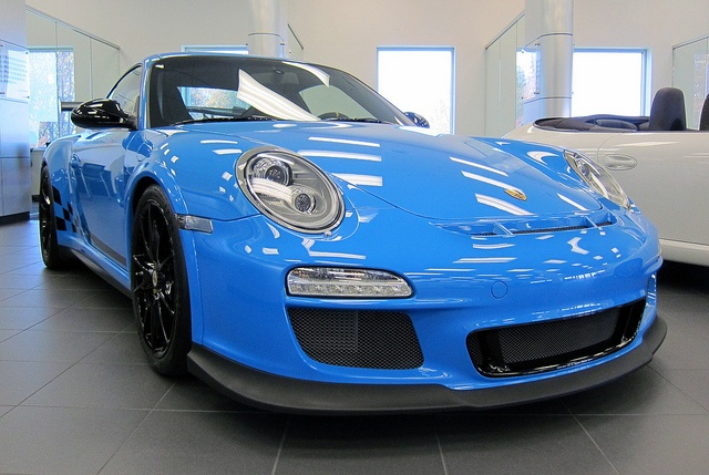 Porsche GT3 RS 3.8 MK II Mexico Blue by Jason Phillips Design, via Flickr