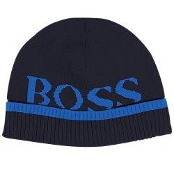 HUGO BOSS - Bonnet bleu