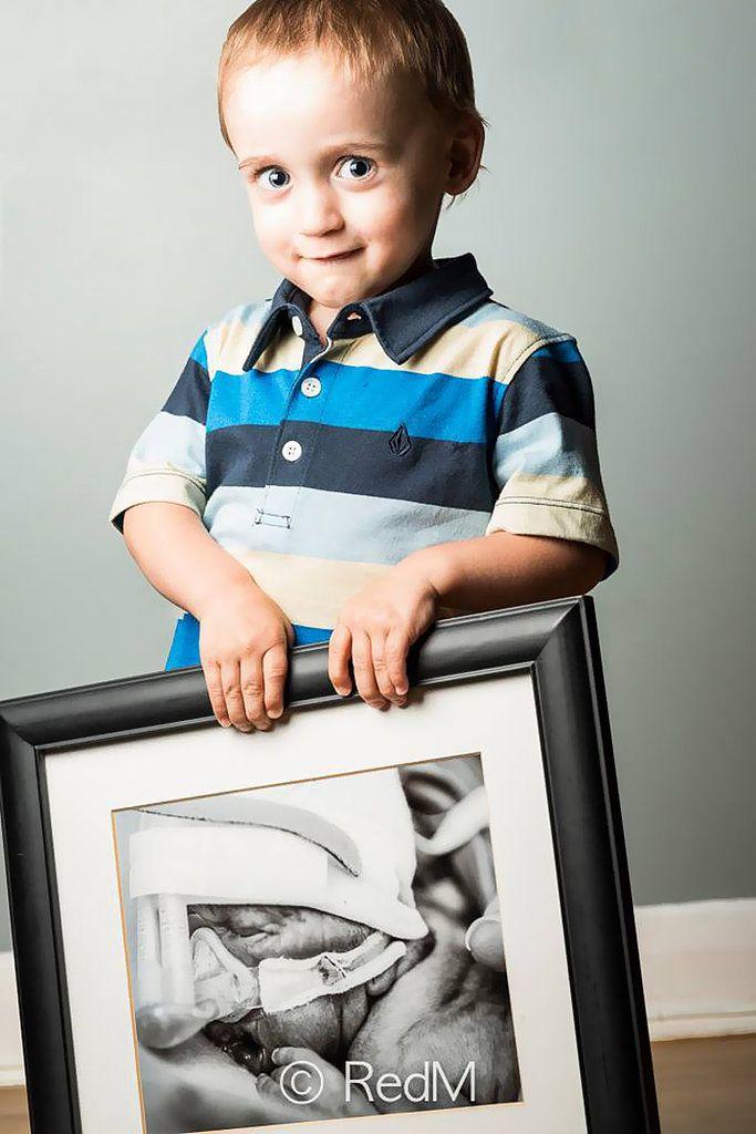Zachary, born at 27 weeks