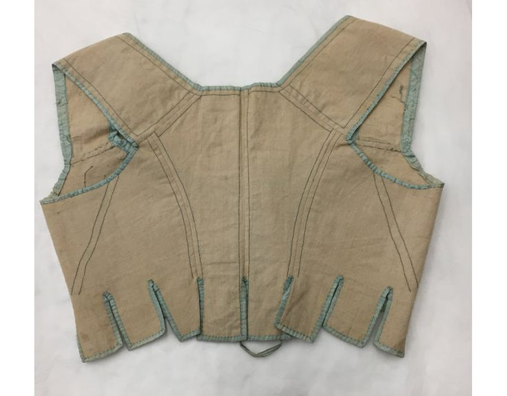 Stays, ca. 1800-1815 | V&A Search the Collections