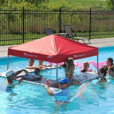 Swim Up Bar Floating Bar Floating Cooler Lake Bar Pool Bar