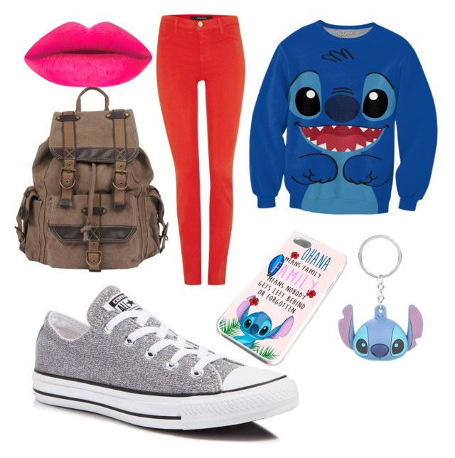 """#4"" by matilda-key on Polyvore featuring J Brand, Disney, Converse, Wilsons Leather, women's clothing, women, female, woman, misses and juniors"