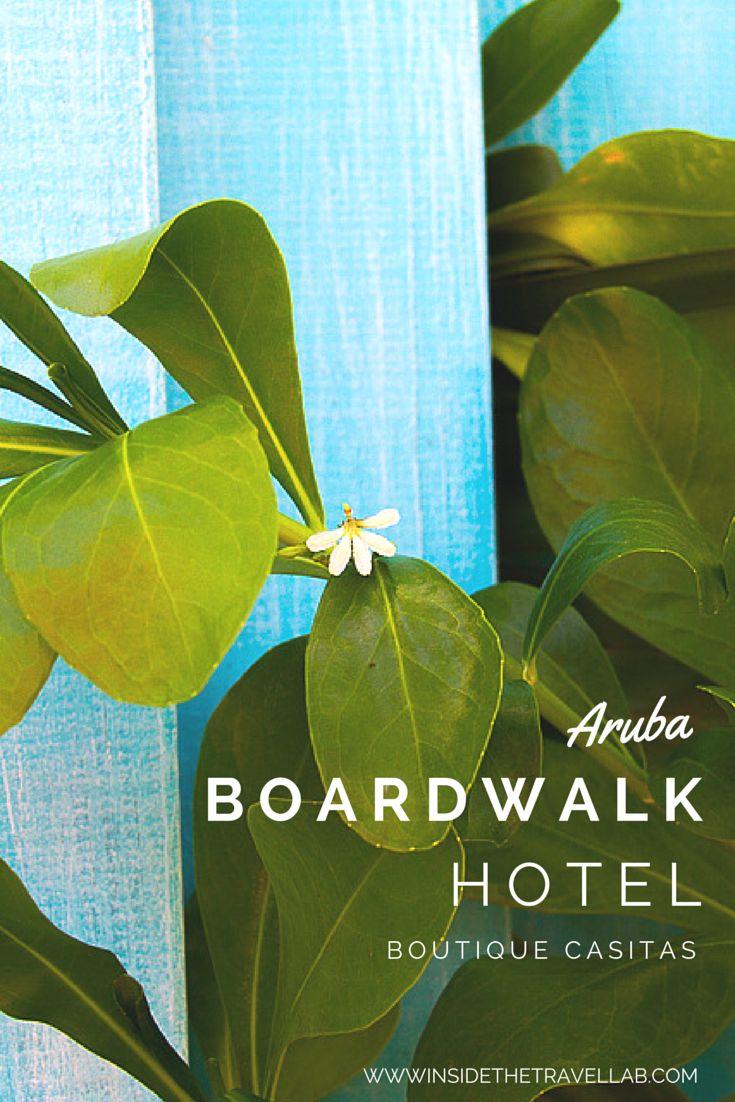 Boardwalk Small Hotel Aruba from @insidetravellab
