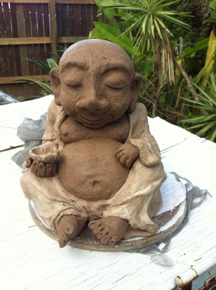 Buddha play. Peaceful