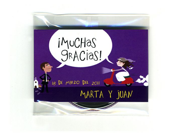 Pack abridor + tarjeta #bodas