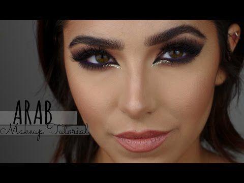 ARAB MAKEUP TUTORIAL BY HUMAYRABEAUTY - YouTube