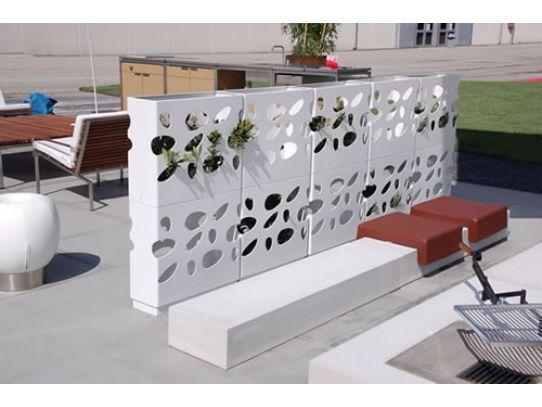 112 best images about jardines verticales on pinterest for Modulo jardin vertical