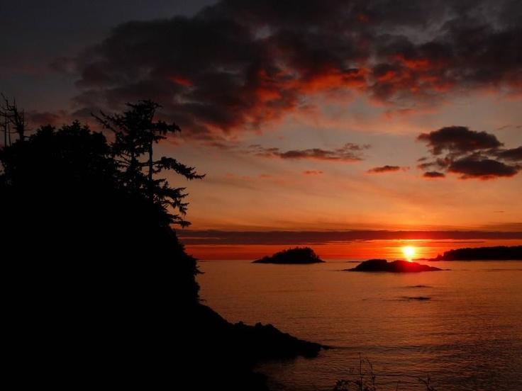 Sunset ~ Tofino, British Columbia, Canada