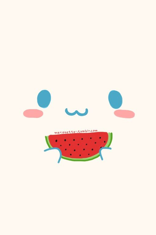 Watermelon cute