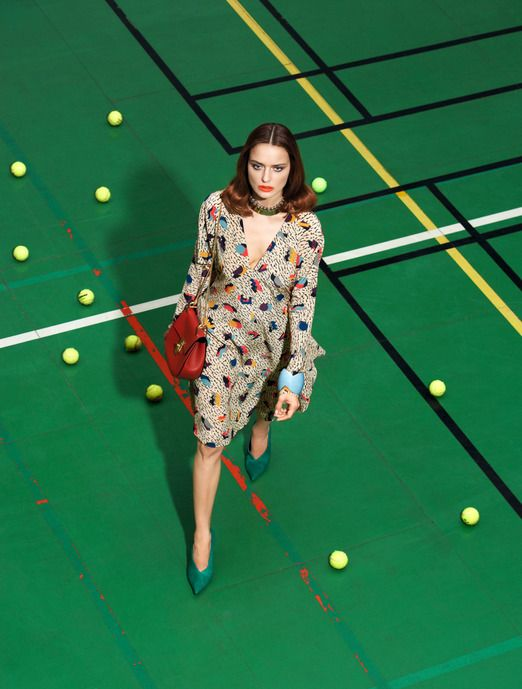 """""""Special accessories"""" Madame Figaro France September 12, 2014 by Kourtney Roy"""