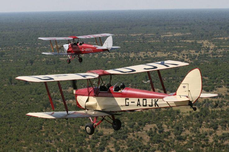 Aviões antigos vão percorrer dez países de norte a sul da África (Foto: Divulgação)