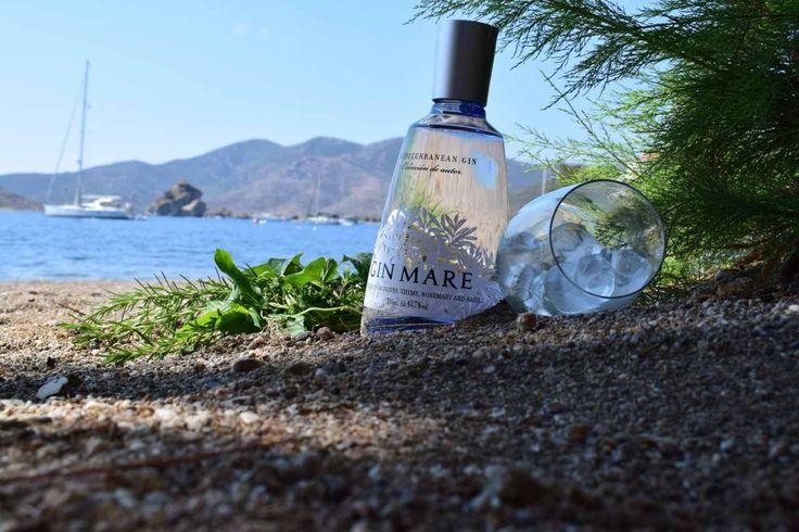 Mediterranean flavors Gin Mare ....Patmos Aktis Greece 🇬🇷