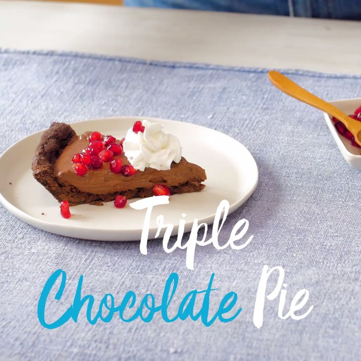 68 best dessert recipes images on pinterest weight watcher this chocolate cream pie a fork full of happiness go ahead treat yourself with this dessert tonight tap to get this sweet and decadent recipe forumfinder Images