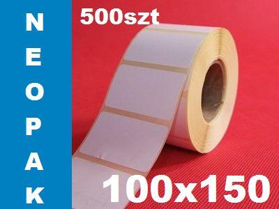 Polecamy  Etykiety Termiczne! http://neopak.pl/etykiety-termicznei/logistycznee/do-drukarek-etykiet-etykiety-samoprzylepne-100x150mm