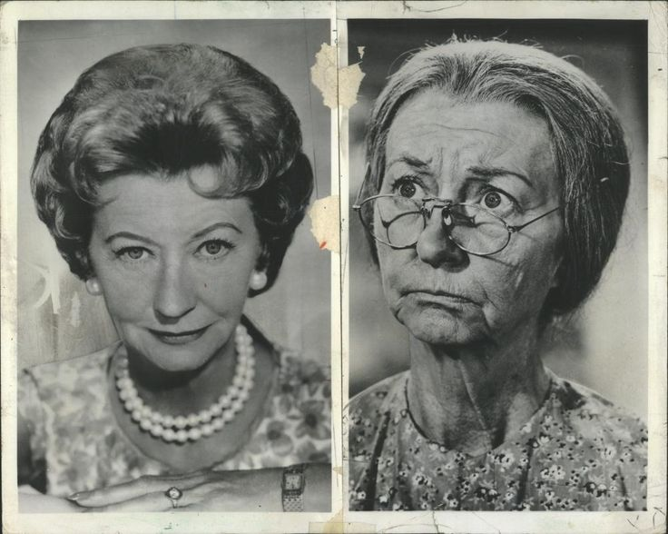 "Irene Ryan (1902 - 1973) best known for ""The Beverly Hillbillies"""