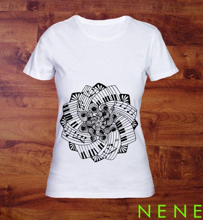 Ben noto Oltre 25 fantastiche idee su Magliette dipinte a mano su Pinterest  AC78