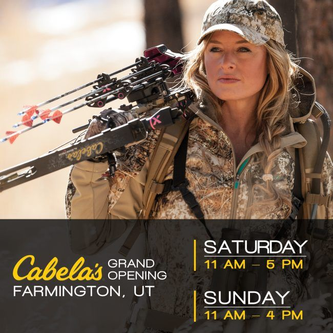 Have you ever met Kristy Titus? If you live near Farmington, Utah head over to Cabela's Grand Opening this weekend. Meet Kristy Titus at Cabela's Farmington, UT Grand Opening http://www.womensoutdoornews.com/2016/04/kristy-titus-cabelas-farmington-utah/ via @teamwon