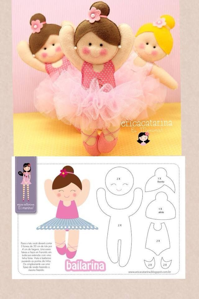 muñeca bailarina