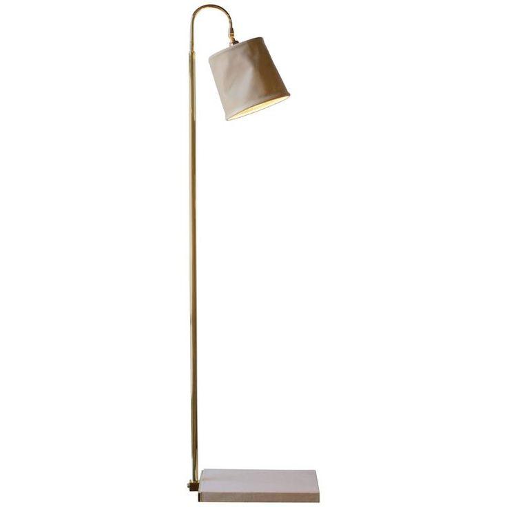 Series 01 Floor Lamp in Ash by Adam Otlewski in Leather and Unlacquered  Brass  Modern Floor LampsTennisBlushesBrassFloorsAntiqueCharcoal LightingFurniture. 502 best Inspirational Lighting images on Pinterest   Chandeliers
