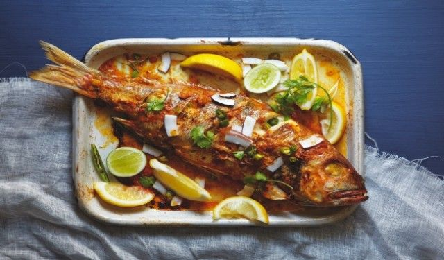 East African Fish Curry Recipe--but will make it using fillets, not a whole fish!