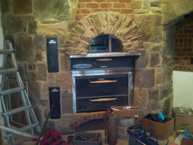 Gervasi  Winery and Bistro Stone Hearth Oven