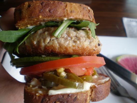 ahi tuna patty burger from The Misfit | Food Porn I Took | Pinterest ...