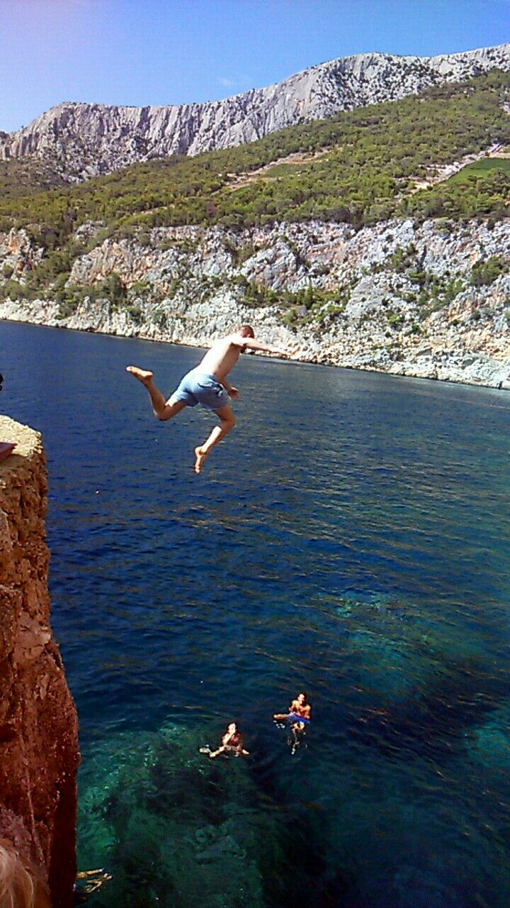 Hvar Croatia,  Extreme Jump (by Maggie00)