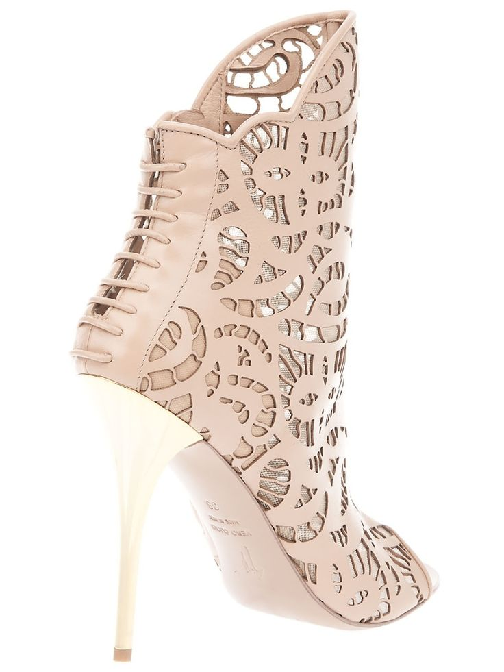 "Giuseppe Zanotti Shoes - Booties - ""Surely I am your Lord, therefore put off your shoes;surely you are in the holy valley, Tuwa,"" Surah Taha, 12"